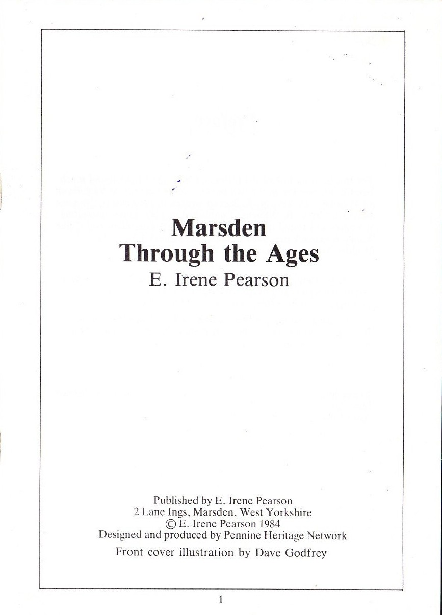 Publication Marsden Through The Ages